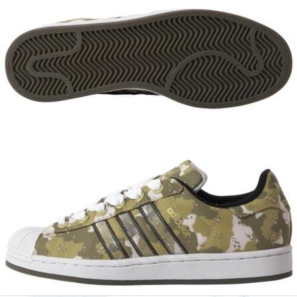 6bfe2cc4 adidas Shoes | Adicolor Superstar Ll Desert Camo Rare 105 | Poshmark